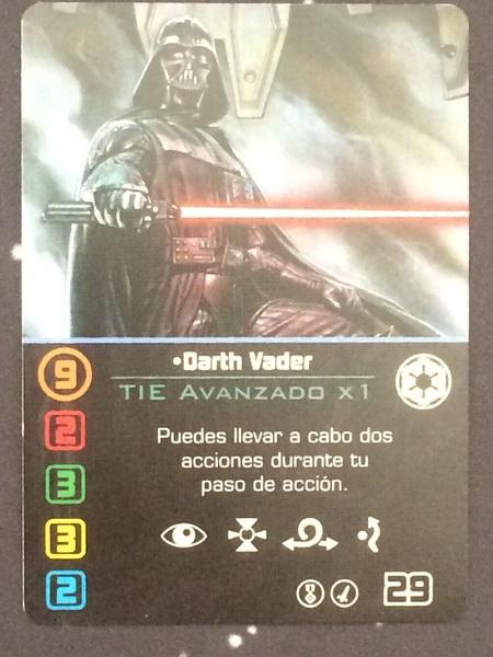 Darth Vader carta promo