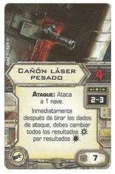 Cañon laser pesado