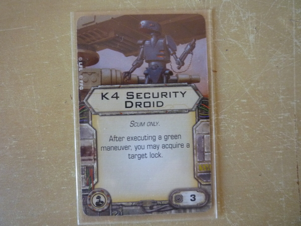 K4 Security Droid (ingles)