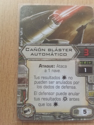 Cañón blaster automático