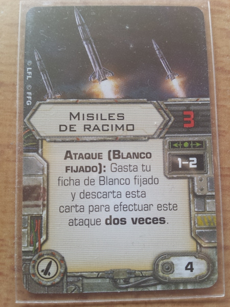 Misiles de racimo - Cluster misiles