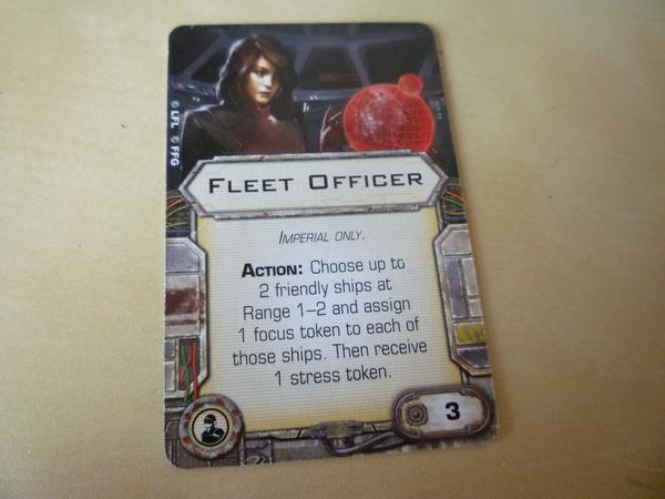 fleet officer (ingles)