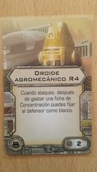 Droide agromecanico r4