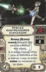 Misiles rastreadores avanzados