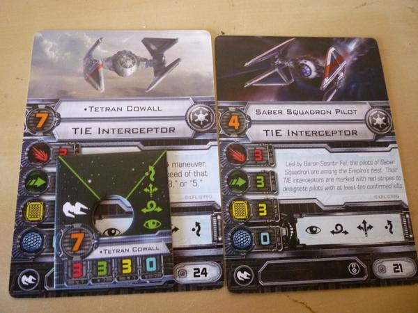 Tetran Cowell/Saber Squadron (ingles)