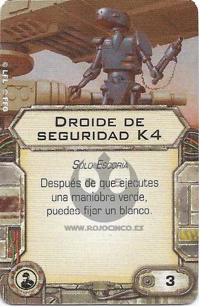 Droide de seguridad K4