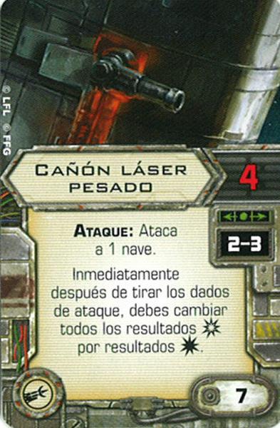 Cañon Laser Pesado - Carta