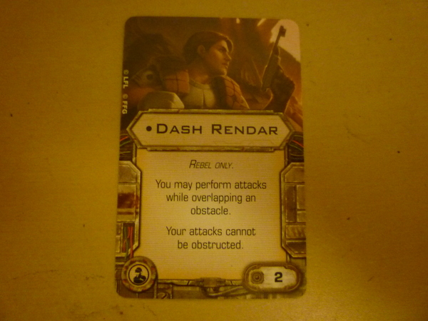 Dash Rendar (ingles)