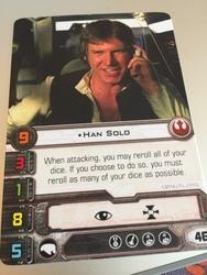 Carta Han Solo Promo