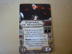 Disparo de reaccion