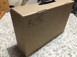 Maleta De transporte KR, de cartón más espumas