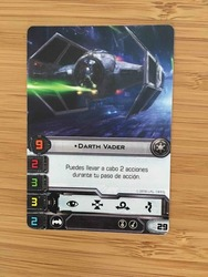 Darth Vader Luke Skywalker promo oficial